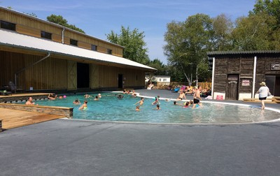 Camping Le Village Western, France, Gironde, Hourtin